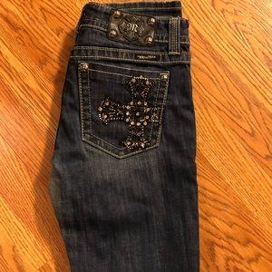 Miss Me skinny jeans size 30 waist